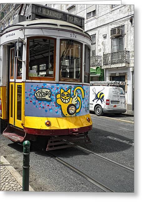 Lisboa Greeting Card by Joachim G Pinkawa