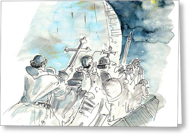Lisbon Monument Of Discoveries Greeting Card