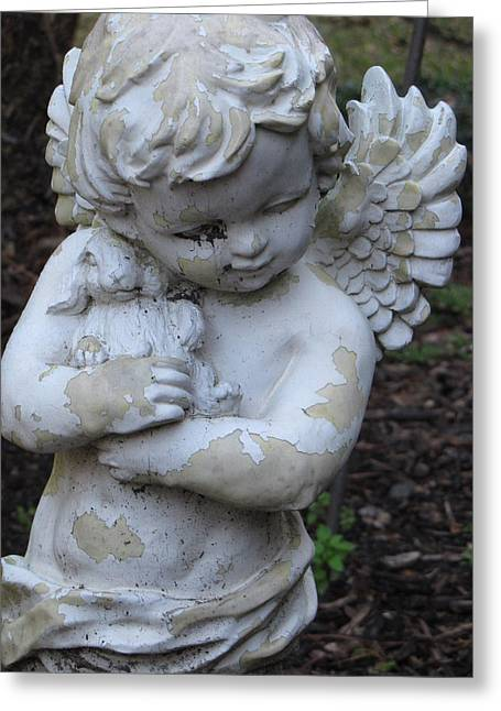 Greeting Card featuring the photograph Little Angel by Beth Vincent