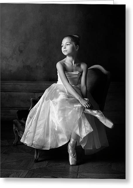 Little Ballet Star Greeting Card