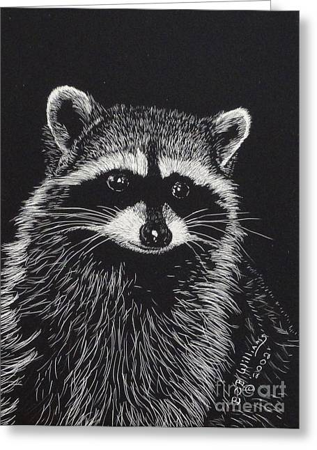 Little Bandit Greeting Card