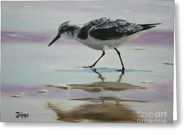 Little Beach Bird Greeting Card