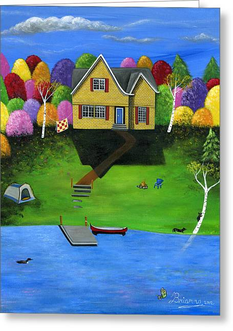 Little Bear Cottage Greeting Card