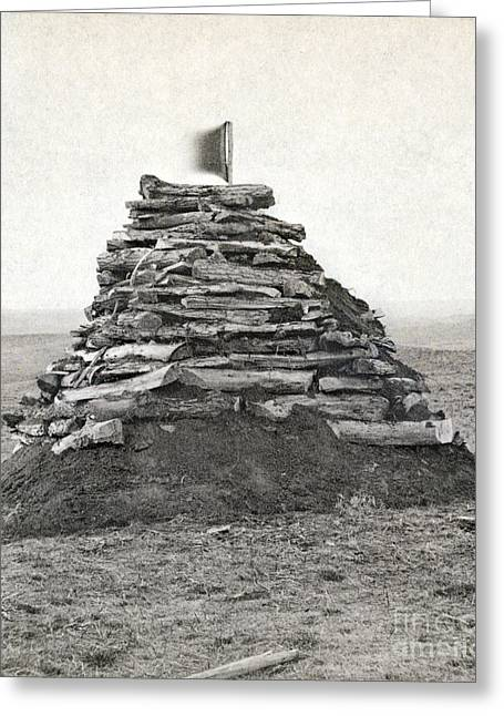 Little Bighorn Monument Greeting Card