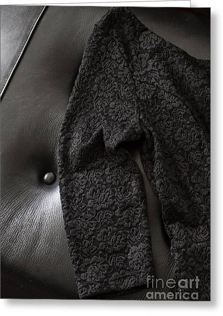 Little Black Dress Greeting Card by Margie Hurwich