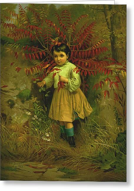 Little Bo Peep 1867 Greeting Card