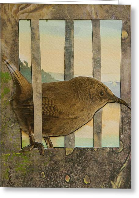 Little Brown Bird Greeting Card