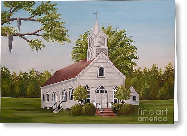 Little Chapel Greeting Card
