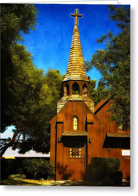 Little Church Of The West Greeting Card
