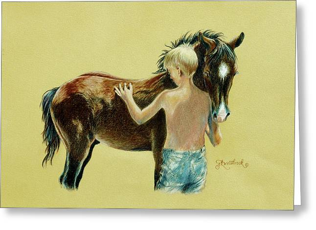 Little Colts Greeting Card