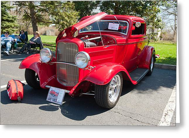 Little Deuce Coupe Greeting Card
