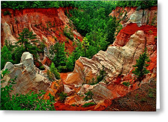 Little Grand Canyon 2 Greeting Card