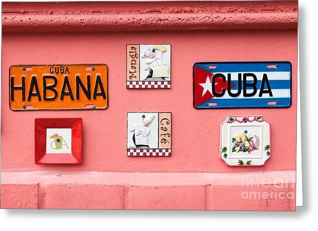 Little Havana Greeting Card