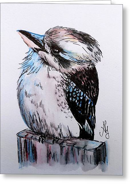 Little Kookaburra Greeting Card