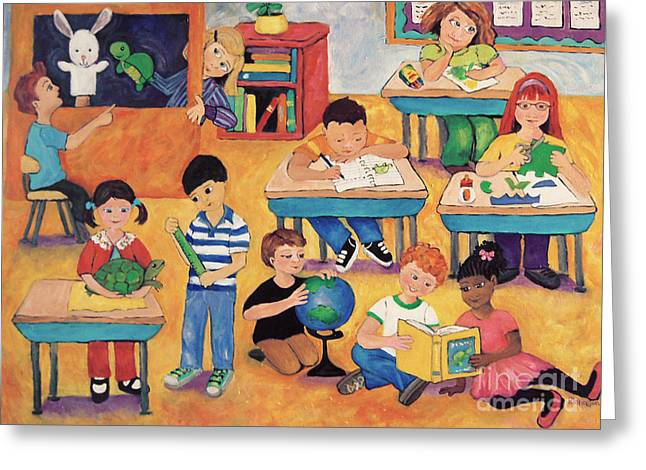 Little Learners Greeting Card