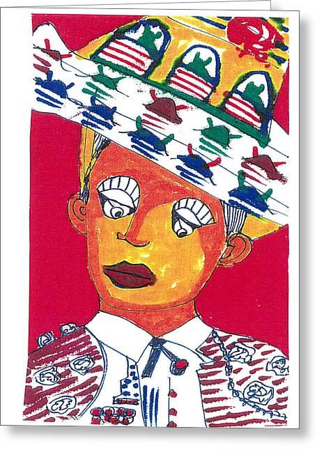 Little Matador Greeting Card by Don Koester