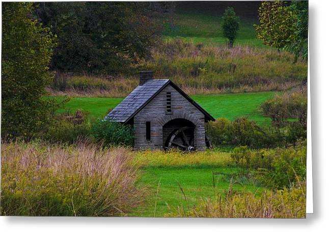 Little Mill In Chestnut Hill Greeting Card
