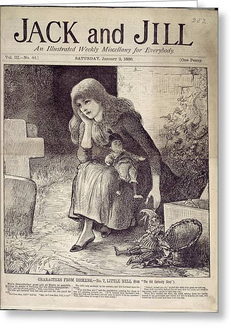 Little Nell Greeting Card by British Library