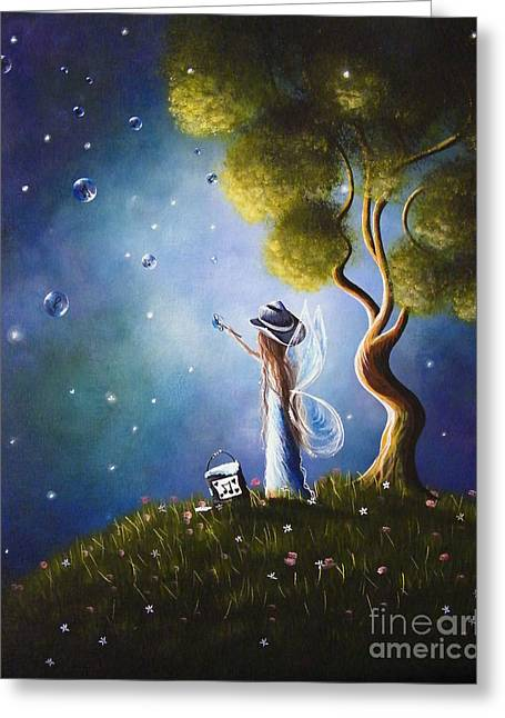 Little Possibilities Fairy Art By Shawna Erback Greeting Card