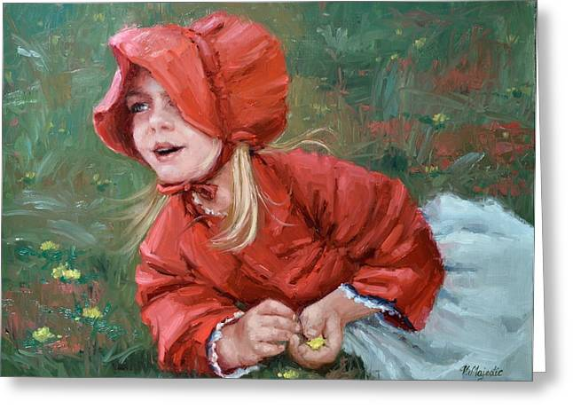 Little Red Ridinghood  Greeting Card
