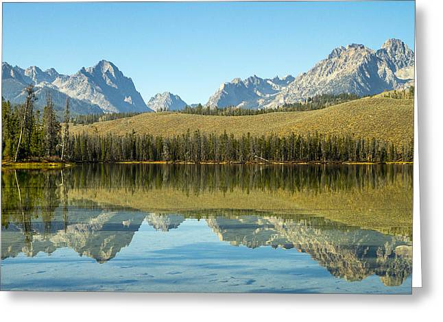 Little Redfish Lake Greeting Card