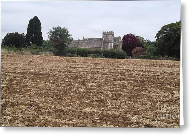 Little Rissington Church 2 Greeting Card by John Williams