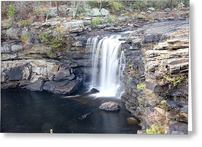 Greeting Card featuring the photograph Little River Falls by Robert Camp
