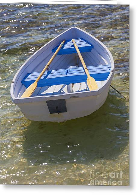 Little Rowboat Greeting Card