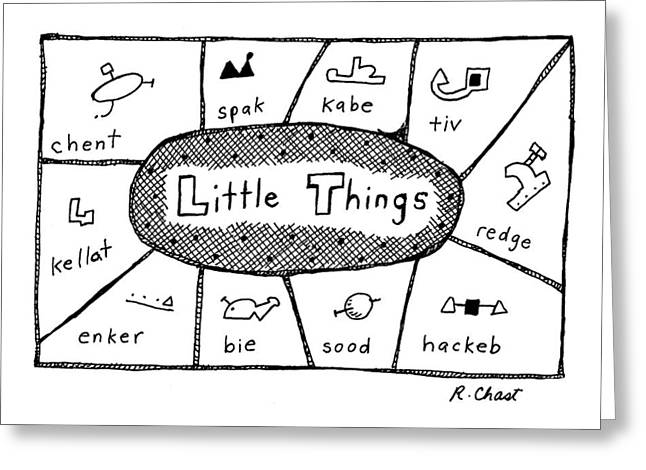 'little Things' Greeting Card