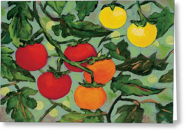 Little Tomatoes Greeting Card