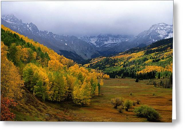 Little Meadow Of The Sublime Greeting Card by Eric Glaser