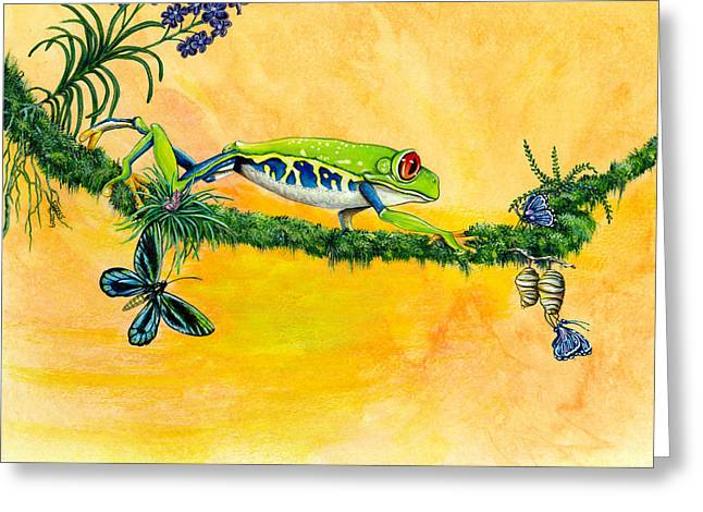 Live And Let Live Greeting Card by Richard Brooks