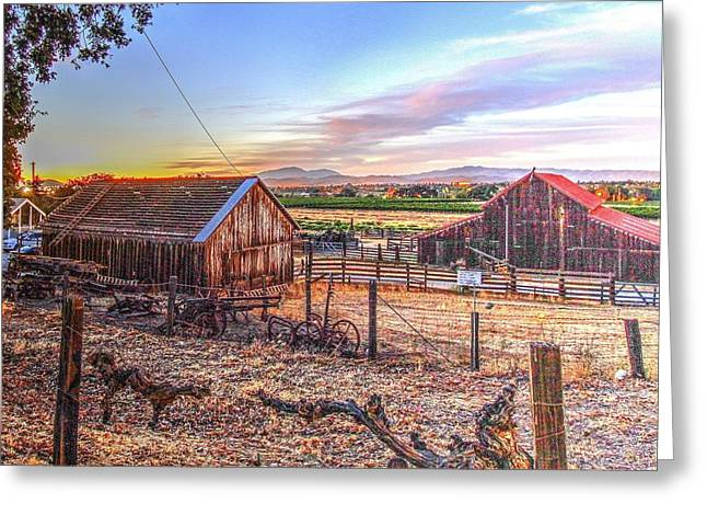 Livermore Barns Greeting Card