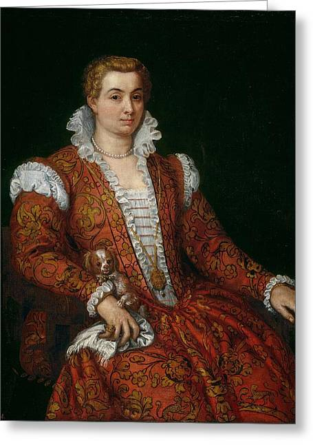 Livia Colonna Greeting Card by Paolo Veronese