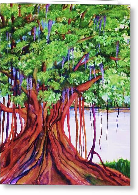 Living Banyan Tree Greeting Card