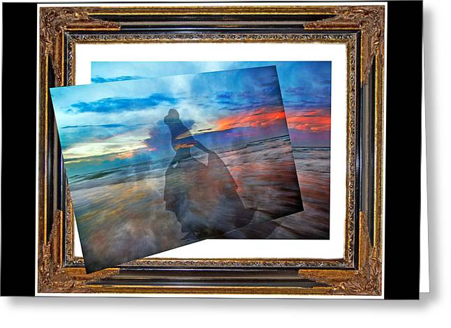 Living Frame Greeting Card by Betsy Knapp