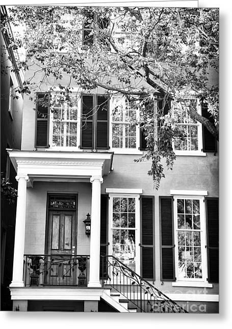 Living In Savannah Greeting Card