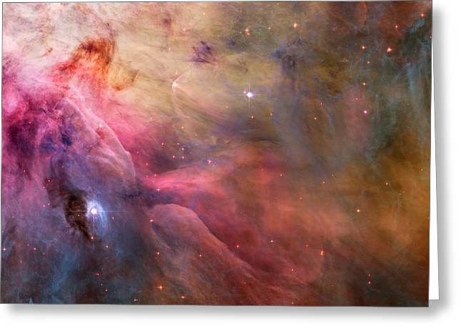 Ll Ori And The Orion Nebula Greeting Card by Movie Poster Prints