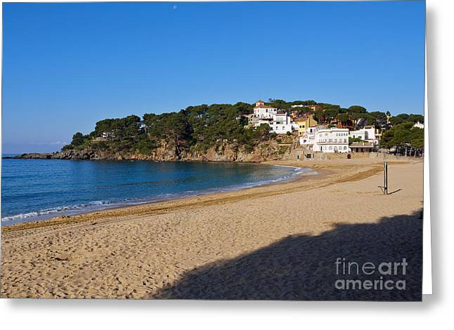 Llafranc On The Costa Brava Spain Greeting Card by Louise Heusinkveld