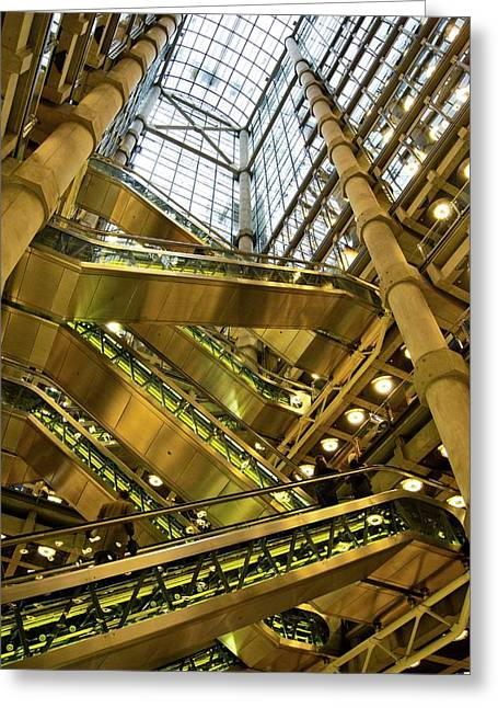 Lloyds Of London Interior Greeting Card