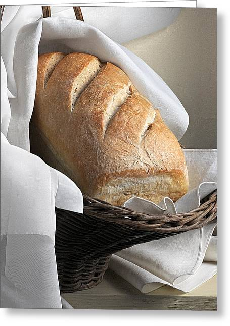 Loaf Of Bread Greeting Card