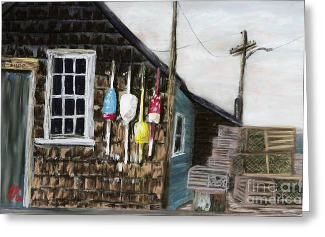 Lobster Shack 3 Greeting Card