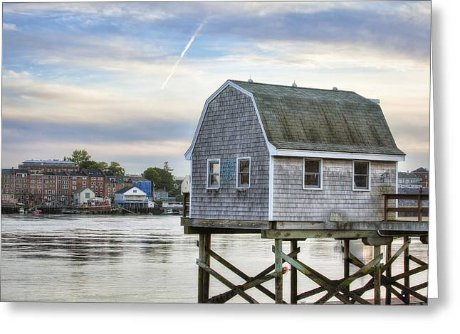 Lobster Shack Greeting Card