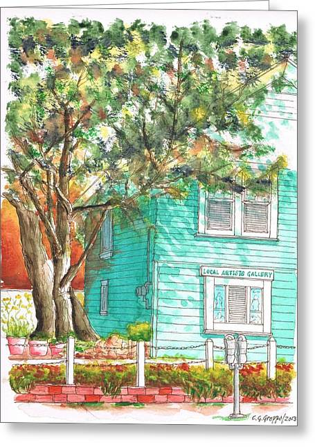 Local Artists Gallery, Monterey, California Greeting Card