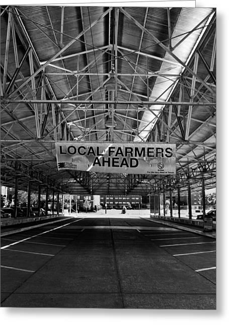 Local Farmers Greeting Card by Mark Alder