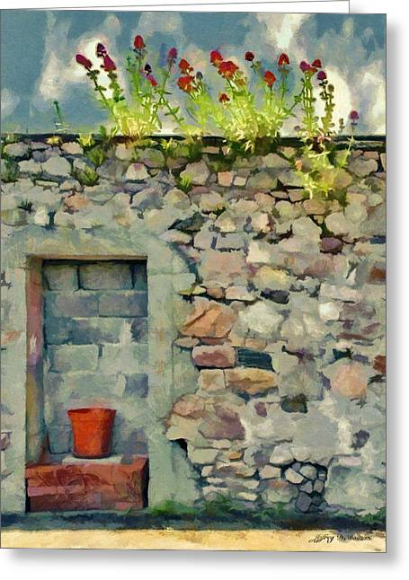 Location With A View Greeting Card by Jeff Kolker