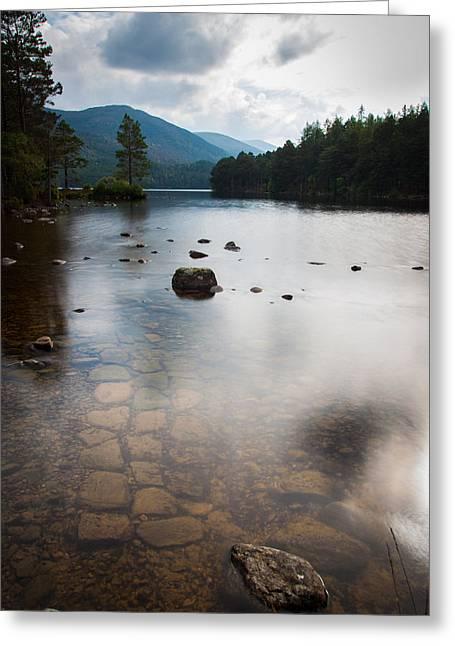 Loch An Eilein Greeting Card