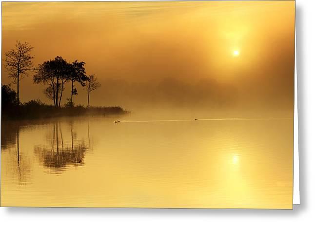 Loch Ard Morning Glow Greeting Card