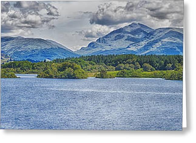 Loch Awe Panorama Greeting Card