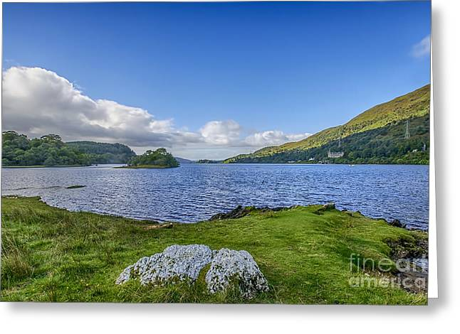 Loch Awe View Greeting Card by Chris Thaxter